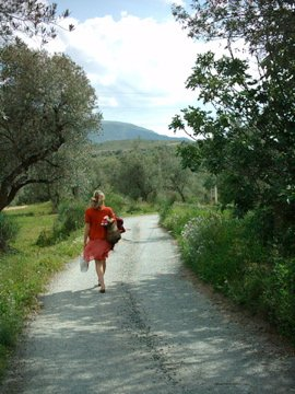 hill walking and yoga retreat in spain