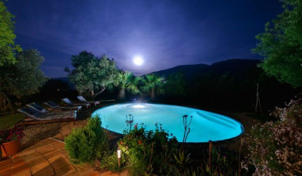 christmas yoga retreats with pool and sauna spain