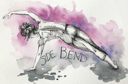 Side bend yoga