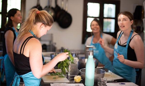 kitchen workshop kaliyoga spain amanda