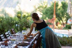 lady table christmas kaliyoga spain